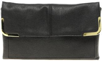 Asos Metal Corner Clutch Bag
