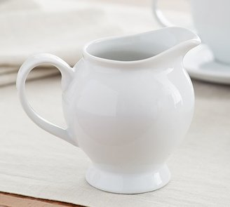 Pottery Barn Great White Sugar Bowl & Creamer