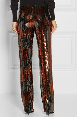 Marc Jacobs Sequined straight-leg pants