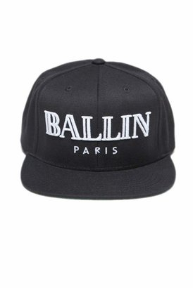 Ballin Brian Lichtenberg Baseball Cap in Black/White