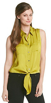 Vince Camuto Low Tie Blouse