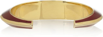Isharya Louvre gold-plated cuff