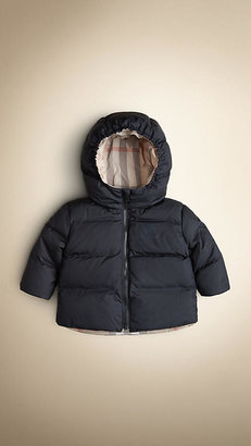 Burberry Reversible Check Puffer Jacket