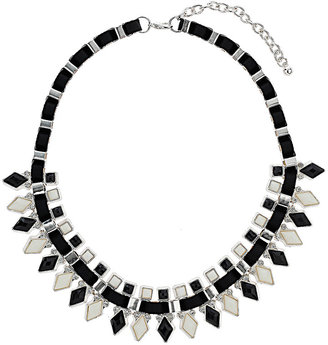 Wallis Black Stone Diamond Collar