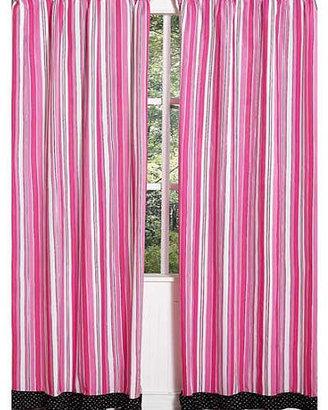 JoJo Designs Sweet Madison Collection Window Panels - Set of 2