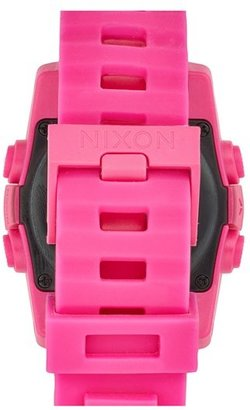 Nixon Women's 'The Unit 40' Round Digital Watch, 40Mm