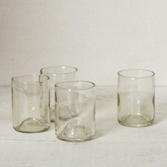 west elm Recycled Wine Punt Glassware - Clear 12 oz