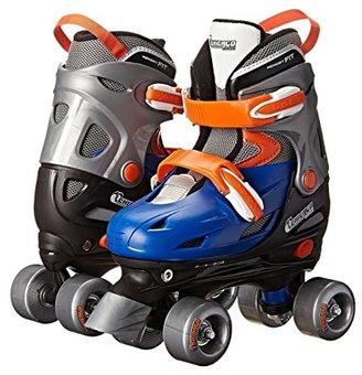 Chicago Skates Adjustable Quad (Toddler/Little Kid/Big Kid) (Black/Red) Shoes