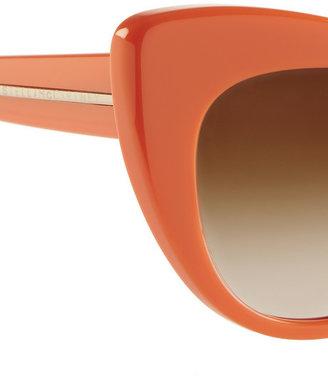 Stella McCartney Cat eye acetate sunglasses