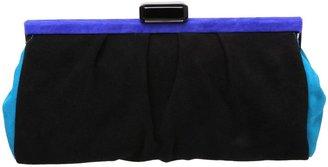 Dune Lovebox colour block clutch bag