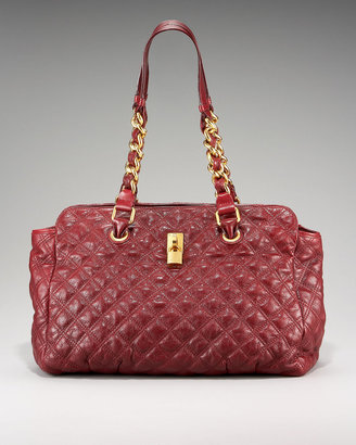 Marc Jacobs Anabela Quilted Leather Tote