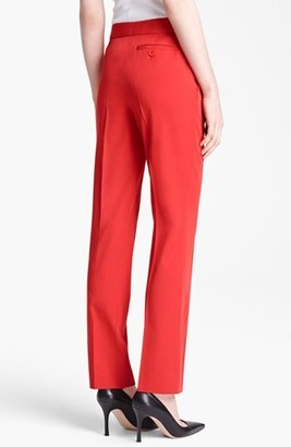 Moschino Cheap & Chic Wool Gabardine Trousers