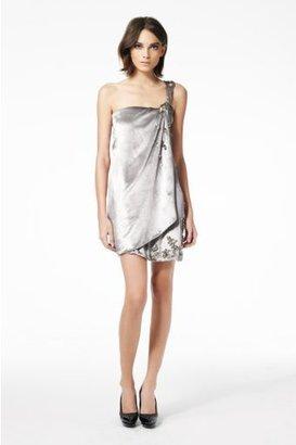Diane von Furstenberg Valetta Dress in Silver