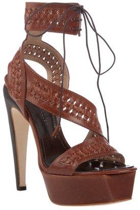 PARTNER: Celebrities Love : Proenza Schouler Woven Leather Platform Sandals