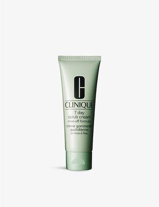 Clinique 7 Day Scrub Cream RinseOff Formula for all skin types 100ml