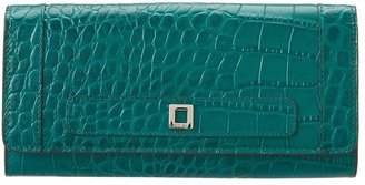 Lodis Century Blvd Nicolette Clutch Wallet (Teal) - Bags and Luggage