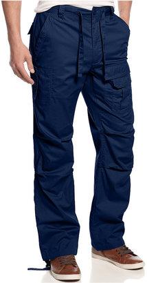 Sean John Men's Big and Tall Pants, Pleat Pocket Flight Cargo Pants $74.50 thestylecure.com