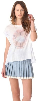 Wildfox Couture Rose Foxes Tee