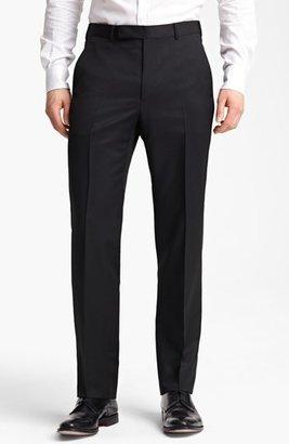 Men's Z Zegna Flat Front Trousers $295 thestylecure.com