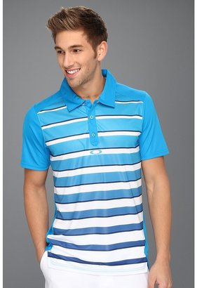 Oakley Fade Polo Shirt (Pacific Blue) - Apparel