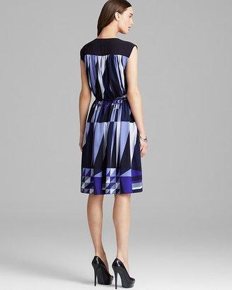 Adrianna Papell Sleeveless Drawstring A-Line Dress