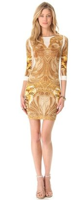 Just Cavalli Athena Long Sleeve Dress