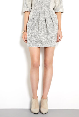 See by Chloe Two Tone Cotton Sweatshirt Skirt