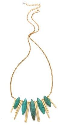 Gemma Redux Turquoise Bar Necklace