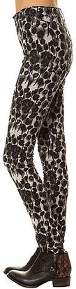 Cheap Monday The Second Skin Jean in Trash Leopard