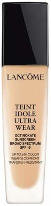 Lancome Teint Idole Ultra Liquid 24H Longwear Spf 15 Foundation - 100 Ivoire (N)