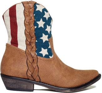American Rag Booties, Mason Cowboy Booties