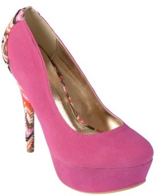 Hailey Jeans Co. Womens Multicolored Heel Accent Stilettos