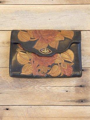 Free People Vintage Western Tooled Bag