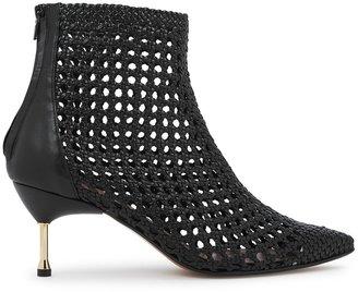 Souliers Martinez Mahon 65 Black Leather Ankle Boots