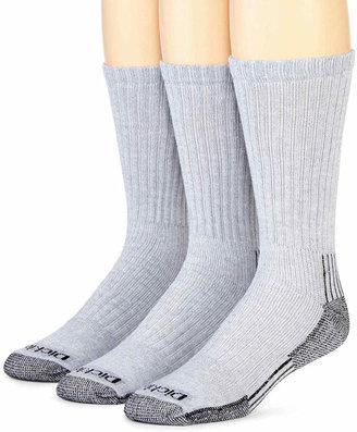 Dickies 3-pk. Heavyweight Cushioned Crew Socks