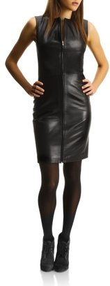 Kenneth Cole Leather Dress