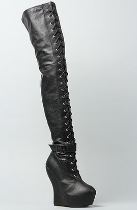 Ophelia *Sole Boutique The Boot in Black