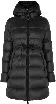 Moncler Bannec Black Quilted Shell Jacket