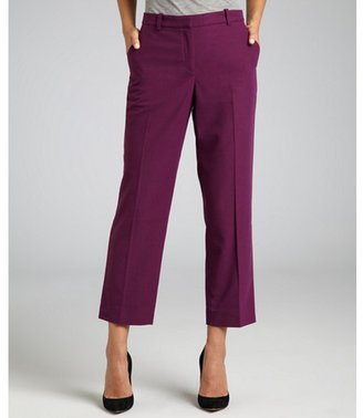 Robert Rodriguez berry felt cropped straight leg pants