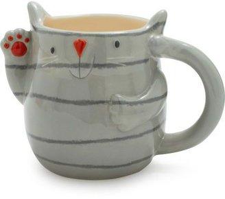Sur La Table Fat Cat Mug