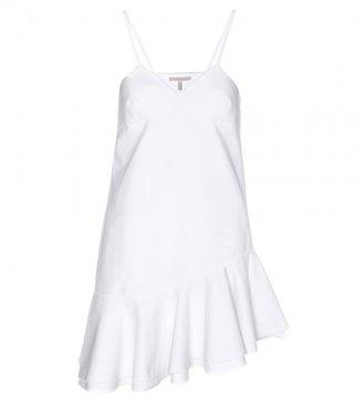 Victoria Beckham Ruffled cotton top