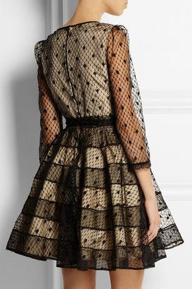 RED Valentino Polka-dot tulle dress