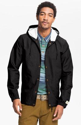 Obey 'Longview' Hooded Rain Jacket
