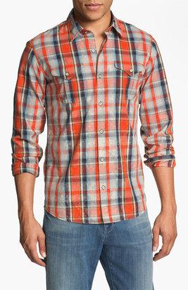 Diesel 'Sweel' Check Print Woven Shirt