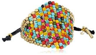 "Kenneth Cole New York ""Beaded Bracelets"" Multi-Colored Bead Adjustable Friendship Bracelet"