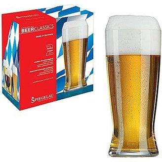 Spiegelau Classics Set of 2 Lager Glasses