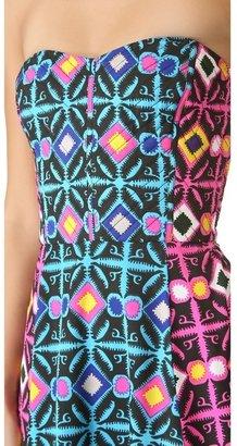 Mara Hoffman Quilted Mini Dress