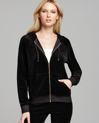 Juicy Couture Hoodie - Velour Relaxed