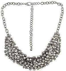 Blu Bijoux Crystal Jingle Necklace