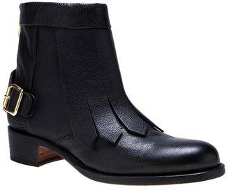 Rupert Sanderson 'Vrony' fringe boot